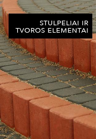 Stulpeliai ir tvoros elementai